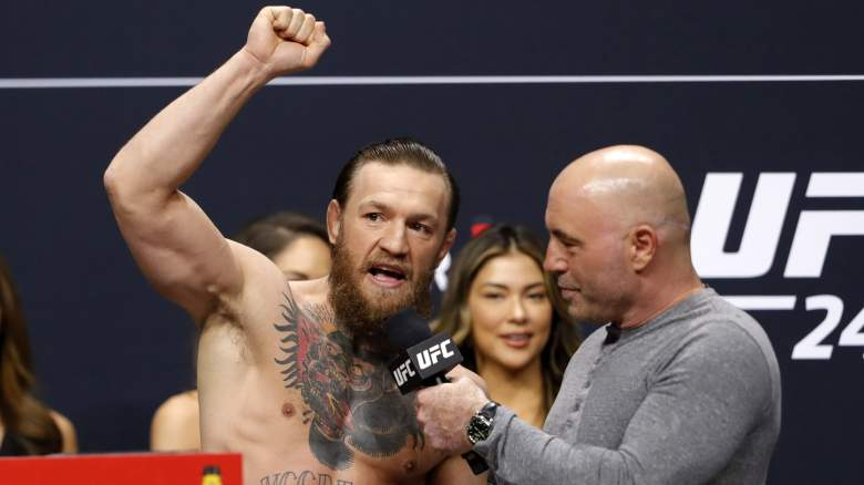 Conor McGregor and Joe Rogan