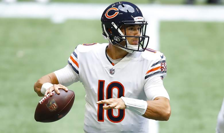 Bears Mitchell Trubisky benched response