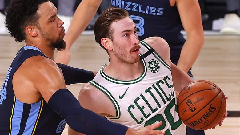 Gordon Hayward of the Celtics.