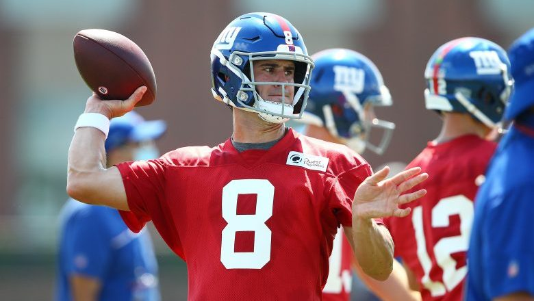 Daniel Jones discusses being named a Giants team captain