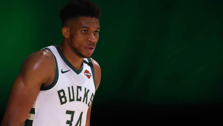 Giannis Antetokounmpo on his way out with the Bucks?