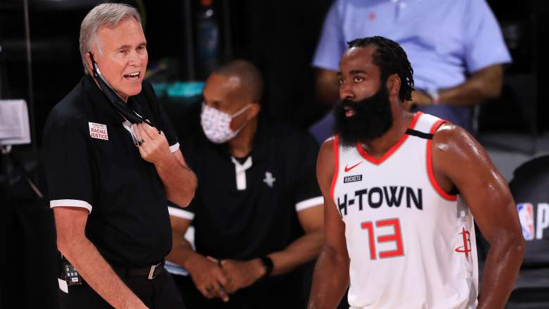 D'Antoni, Harden Reveal Thoughts on Coach's Houston ...