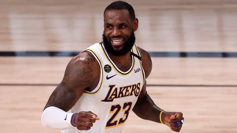LeBron James, Lakers.