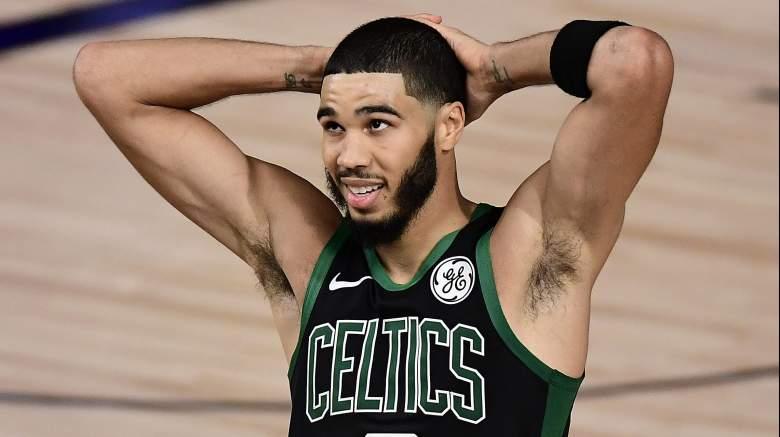Jayson Tatum of the Celtics.