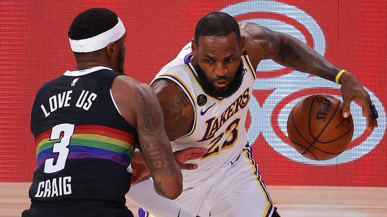 LeBron James, Lakers (right)