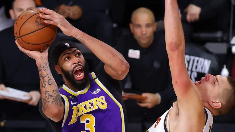 Anthony Davis (left), Lakers