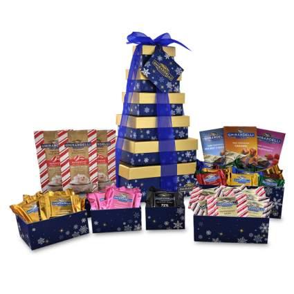 chocolate gift tower