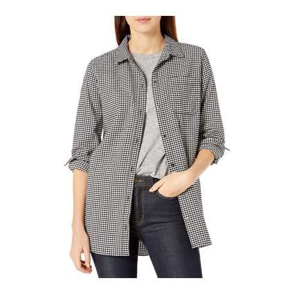 Good Threads oversized plaid shirt for women