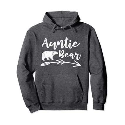 Auntie Bear hoodie