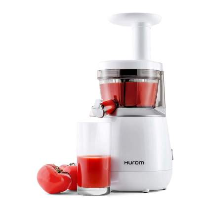 White Huron Juicer with tomatoes