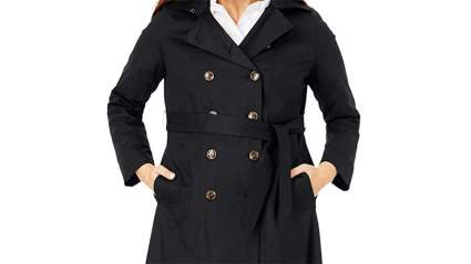 Jessica London Plus Size Trenchcoat