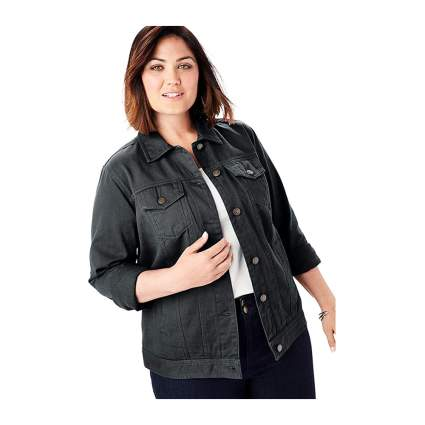 Jessica London plus size denim jacket