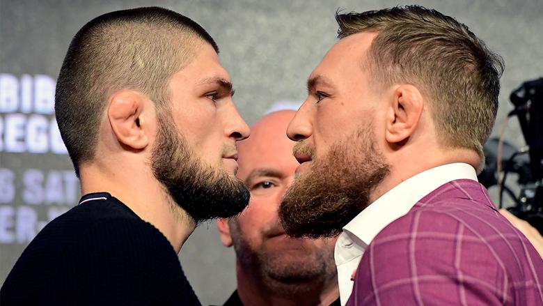 UFC Stars Khabib Nurmagomedov and Conor McGregor