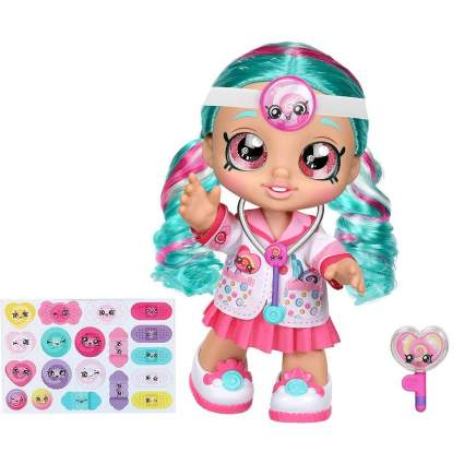 Kindi Kids Dr Cindy Pops with Stethoscope and Shopkins