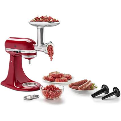 KitchenAid Meat Grinder Silver
