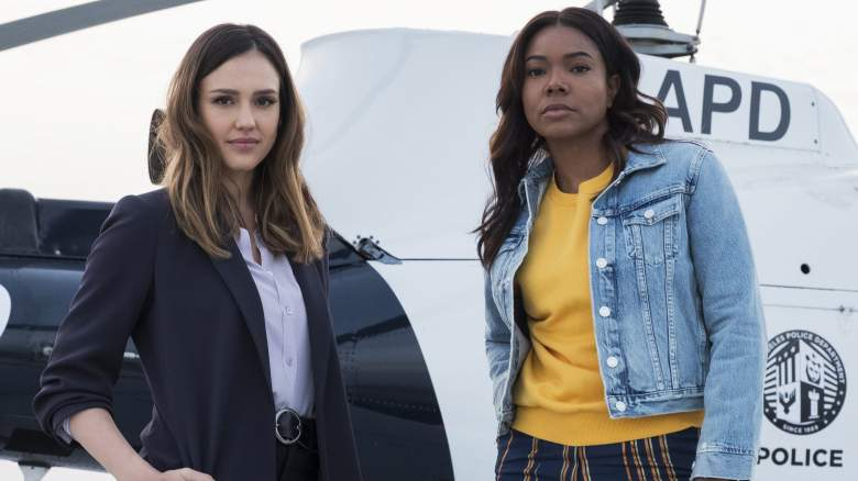 Jessica Alba and Gabrielle Union in L.A.'S FINEST, making its network television debut Monday, Sept. 21 (8:00-9:00 PM ET/PT) on FOX.