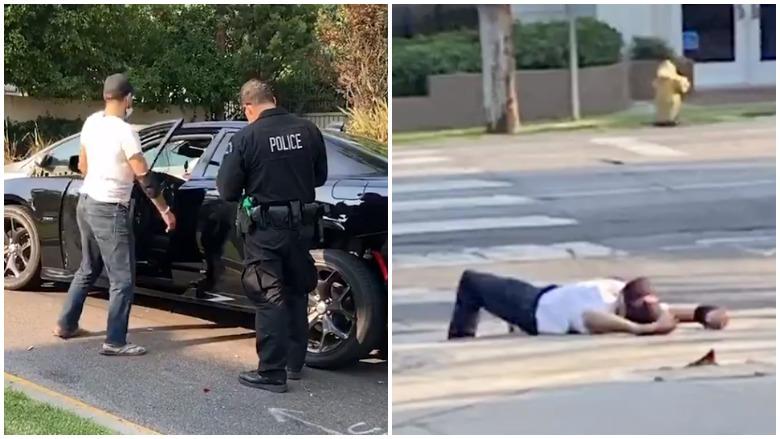 LAPD drunk driver