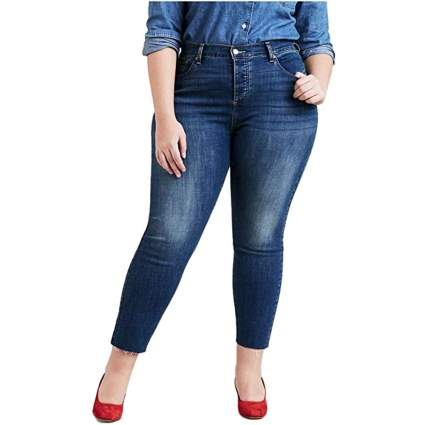 Levi's plus size mom jean