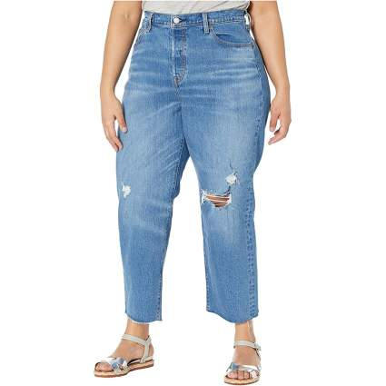 Levi's Plus Size High Waist Mom Jeans