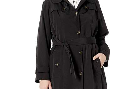 plus size trenchcoat
