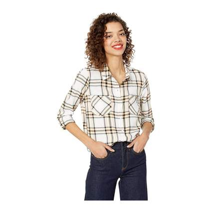 Lucky Brand plaid shirts for women