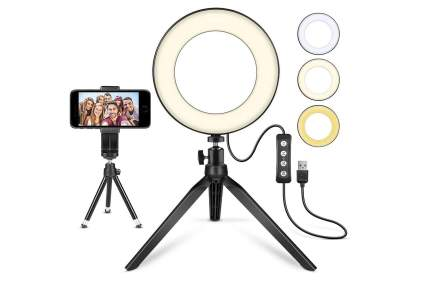 MACTREM ring light for video streaming