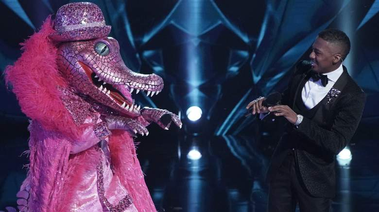 "Crocodile and host Nick Cannon in the ""Six More Masks"" episode of THE MASKED SINGER airing Wednesday, Sept. 30 (8:00-9:00 PM ET/PT) on FOX."