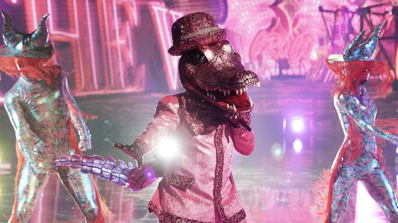 """Crocodile in the """"Six More Masks"""" episode of THE MASKED SINGER airing Wednesday, Sept. 30 (8:00-9:00 PM ET/PT) on FOX."""