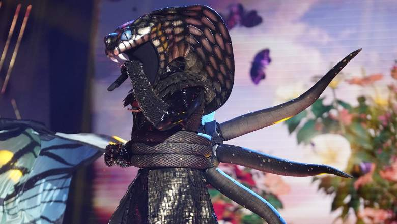 """Serpent in the """"Six More Masks"""" episode of THE MASKED SINGER airing Wednesday, Sept. 30 (8:00-9:00 PM ET/PT) on FOX."""