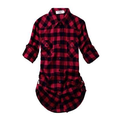 Match plaid shirts for women