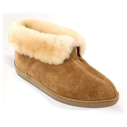 suede ankle boot slippers