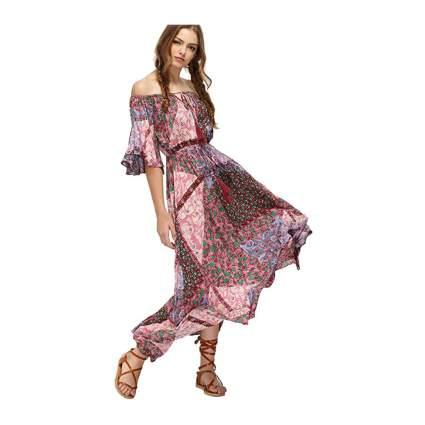 Milumia patchwork dress