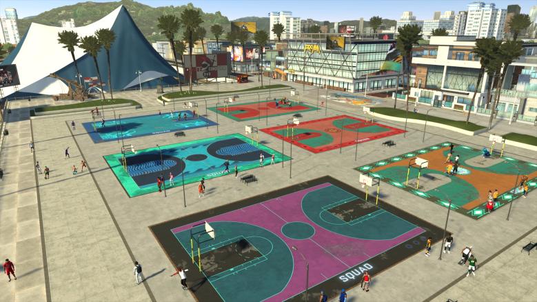 NBA 2K21 Beach Park