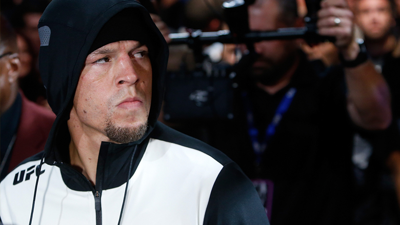 UFC Fighter Nate Diaz