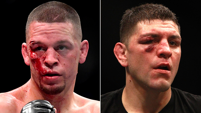 UFC Fighters Nate and Nick Diaz
