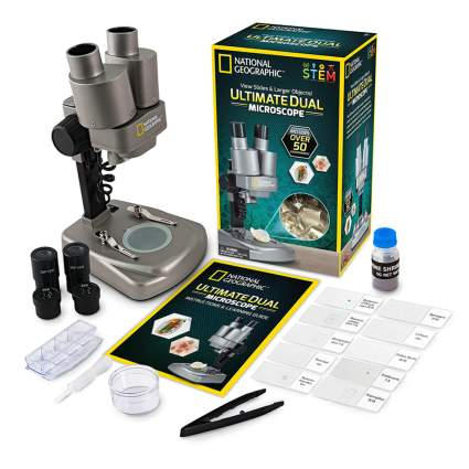 dual LED microscope and science kit