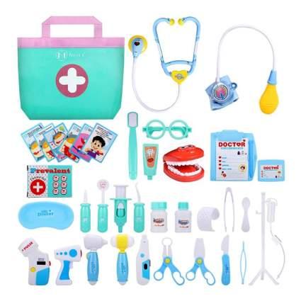 NextX 38 Pcs Toy Medical Kits