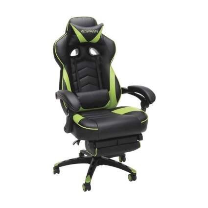 Respawn gaming chair with lumber support
