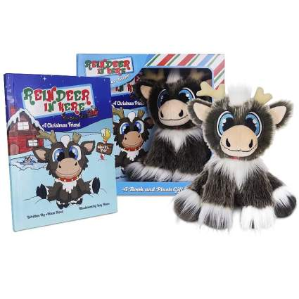 Reindeer In Here Book and Plush Gift Set
