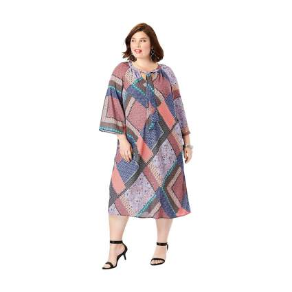 Roaman's patchwork dress