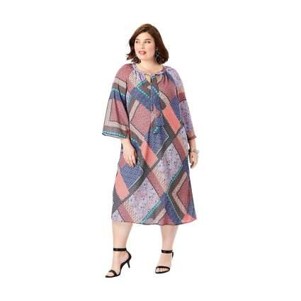 Roaman's patchwork dress