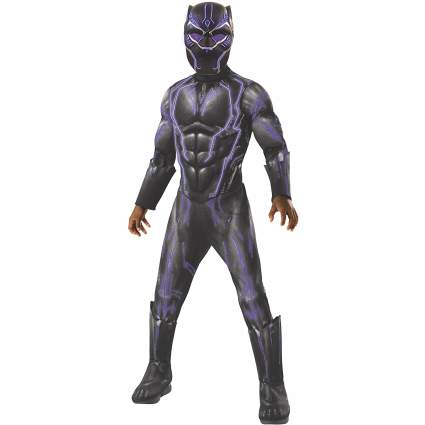 Rubie's Boys Black Panther Super Deluxe Light Up Battle Costume