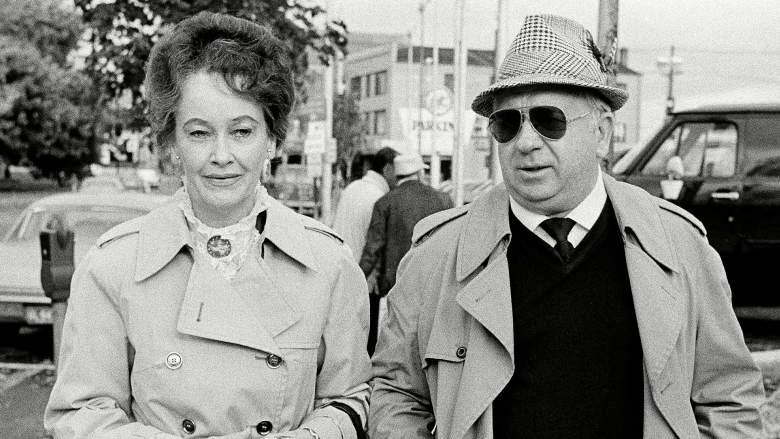 Ed and Lorraine Warren of Monroe, Conn., are seen outside Superior court in Danbury, Oct. 28, 1981, as they waited for Arne Cheyenne Johnson to arrive for the first day of jury selection in Johnson's trial for murder in connection with the death of Alan Bono last February. The Warrens are demonologists and clairvoyants who say that Johnson is possessed by demons.