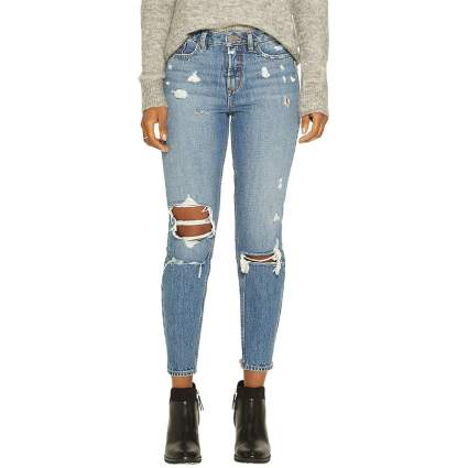 Silver Jeans Co High Waisted Mom Jean