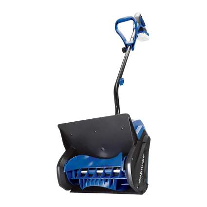 Blue Snow Joe electric snow shovel