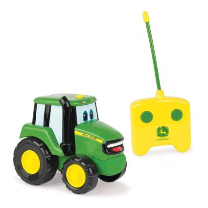 Toddler's remote control tractor