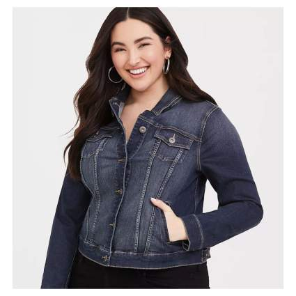 Torrid Plus Size Denim Jacket