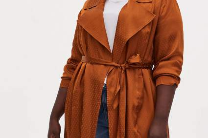Torrid trench coat