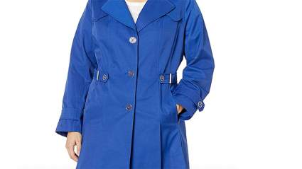 Via Spiga Plus-Size Trenchcoat