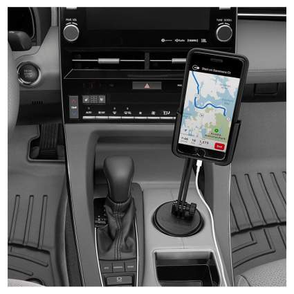 weathertech cup phone holder